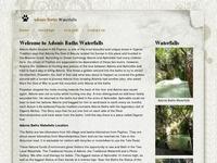 Adonis Baths Waterfalls