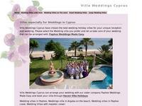 Wedding Villas Cyprus